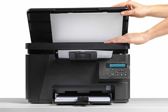 Papieren documenten scannen